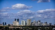 Clouds over Fort Lauderdale buildings