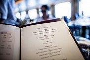 Mein Schiff 4. Lunch menu at Atlantik Restaurant.