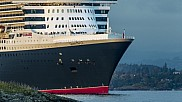 Queen Mary 2 arriving Oslo