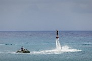 Flyboard. Cozumel, Mexico.