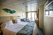 Allure of the Seas, balcony stateroom