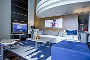 Ovation of the Seas. Royal Loft Suite with balcony.