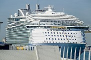 Harmony of the Seas. Barcelona, Spain.