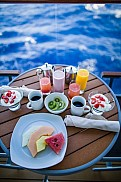 Balcony breakfast, Celebrity Silhouette