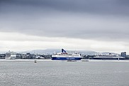 Regal Princess (Left), Crown Seaways (Middle) and Queen Mary 2 (Right) in Oslo, Norway.